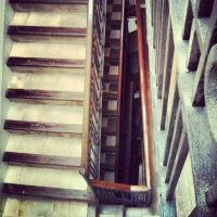 old town stairs by twitchkowitz
