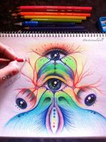 Eye am one with you by artisticalshell