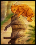 Yellowfang's death [spoilers] by DeadWolfGirl93