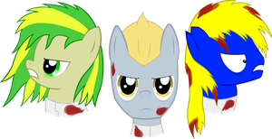WoodenToaster, H8_Seed and BronyDanceParty by ATomPonies