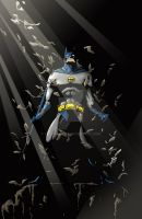 Batman Color by kentarcher