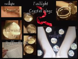 Twilight crystal rings by raffaella131
