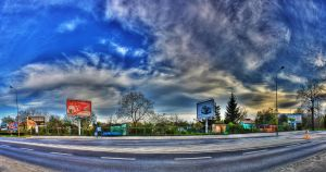 Street Panorama II by Athrian