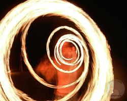 Spiralling fire by redwoodtwig