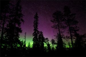 Northern lights by FinJambo