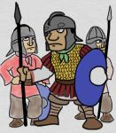 Late Roman soldiers by foojer