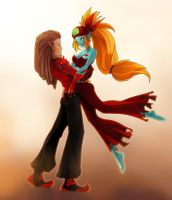 Guitard and Genevive.Commision by Mephitis13