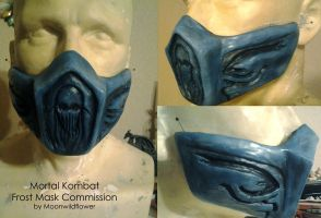 Commission: Frost Mask by ShinkaStudiosCosplay