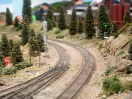 Model Railroad by paploothelearned