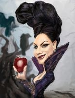 Evil Queen Once Upon a Time by rico3244