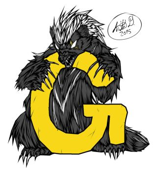 G State Badger by Opalmartin