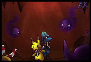Mystery Dungeon by Star-Swirls