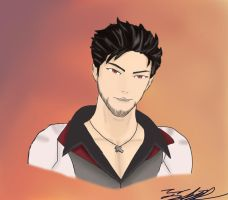 Qrow Branwen by Gunfighter23