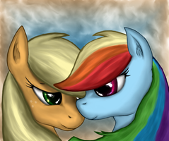 The Dash n' AJ painting by Leyanor