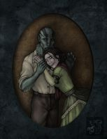 Contest prize 1: Abe and Edith by suthnmeh
