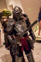 Dragon Age Inquisition Armor at DragonCon Cosplay by SKSProps