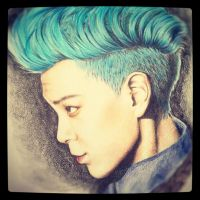 T.O.P Big Bang by pandaeyes105