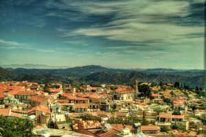 Lefkara and The Troodos Mountains... by TheBaldingOne