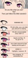 Anime Eye Tutorial by MoonFairyLuna