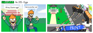 EWCOMIC No. 215 - Eggs by eddsworld