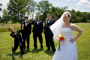 Jenni and Groomsmen II by Lovesong4no1