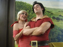 Gaston's Favorite Color is Red by Kapalaka