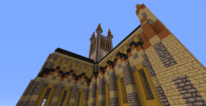 Minecraft Southwark Cathedral by JakeBellRinger