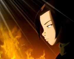 AzuLa On FiRe by Flamula
