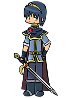 Marth by ssbbgamergirl