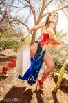 Ame-Comi Wonder Woman Cosplay by Khainsaw