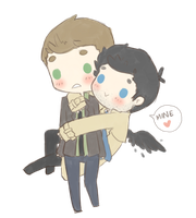 Destiel3 by maicafee