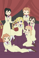 Ouran Hostess Club by CardcaptorKatara