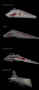 [DL] Star Wars EaW CW 8th version Ships by Stefano96