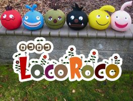 LocoRoco Plush Collection by bassoonhero