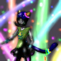 Ravestuck Nepeta by Fainting-Ostrich