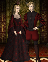 Viktoria and George by ajhistoric2