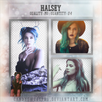 Png Pack 09 : Halsey by CandySweetPng