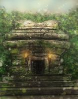 stone temple speedpaint by thesadpencil