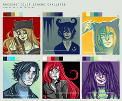 Color Scheme challenge by Nasuki100