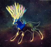 Xerneas by Mootdam