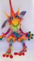 Snow Cone Goblin- by Tanglewood-Thicket