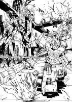 Transformers Machine Wars by channandeller