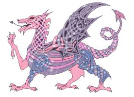 Celtic Dragon 1 by NotNowImBusy