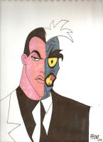 Two Face by Davidbatmanfan