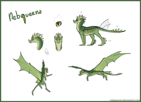 Nebquerna Ref Sheet by Nebquerna