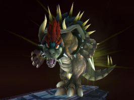 Giga Bowser Trophy Pose by THEJAO1000