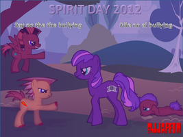 SPIRIT DAY: NO TO BULLYING (dile no al bullying) by djjafeth