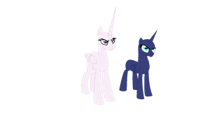 Base 57- The alicorn sisters are not amused. by MLPFangirl