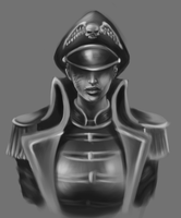Lady Commissar by SirBronson