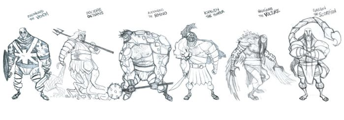 MDT Sinister Six by alessandromicelli